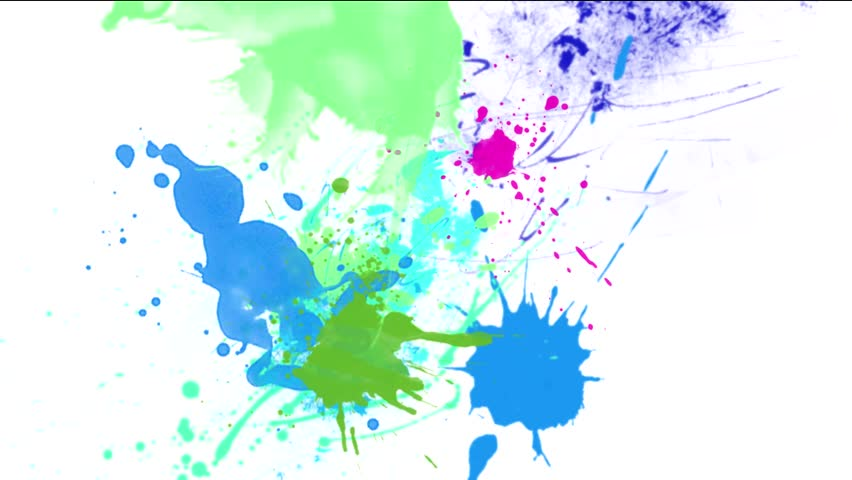 Paint Drops Over Glass Colorful - Full HD Colorful Paints ...
