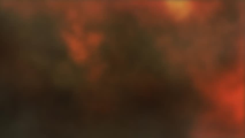 Smoke and fire animated Background