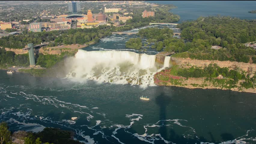 Niagara Falls New York And Stock Footage Video 100 Royalty Free 7253665 Shutterstock