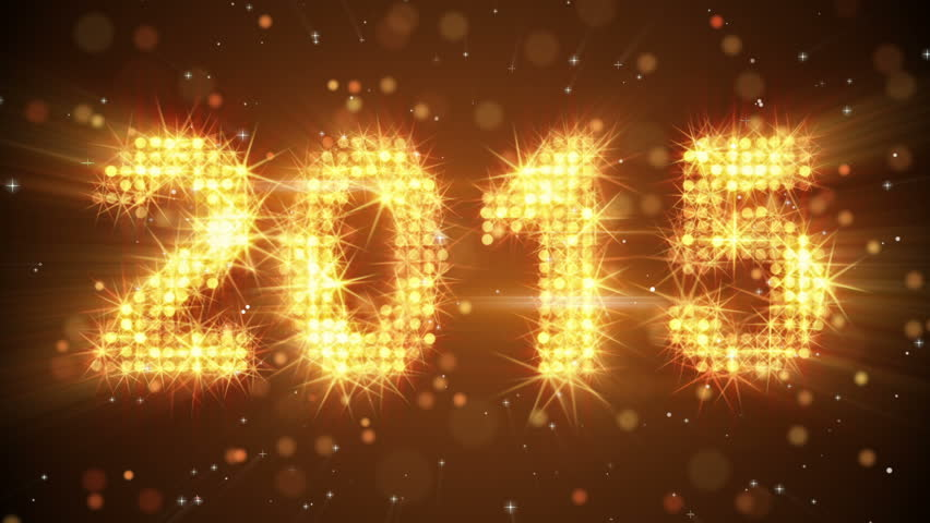Stock video of new year 2015 greeting glowing orange 7449025 categories m4hsunfo