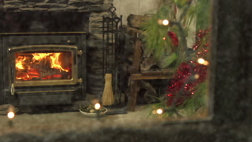 Stockings stock footage video shutterstock for Stocking clips for fireplace