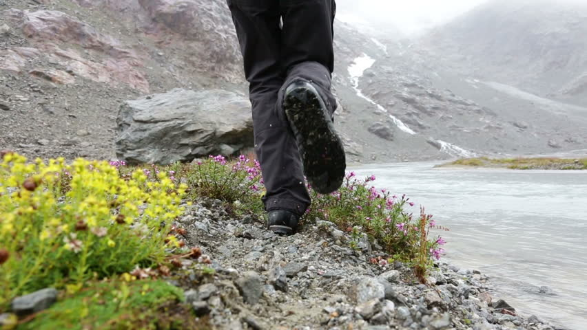 Hiking Boots Stock Footage Video | Shutterstock