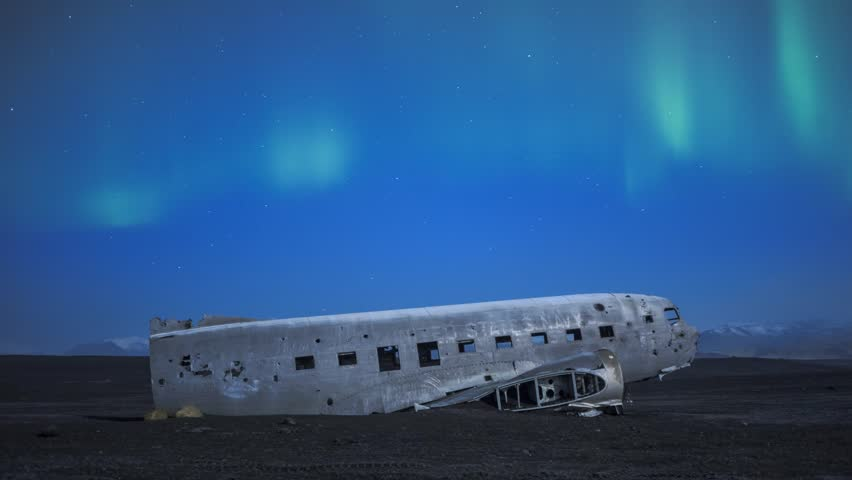 Timelapse Footage of Plane Wreck Stock Footage Video (100% Royalty-free)  7777585 | Shutterstock