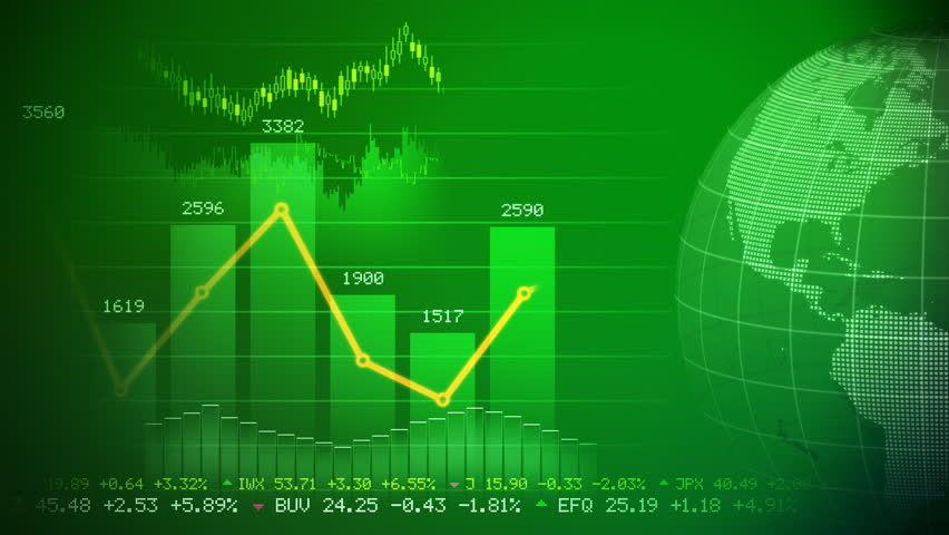 Stock market concept  | Shutterstock HD Video #779605