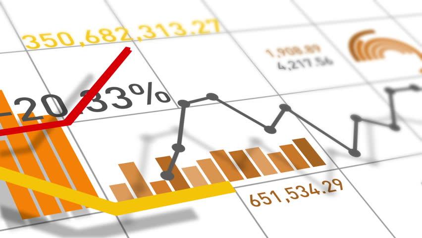 Financial Charts Loop | Shutterstock HD Video #7871545
