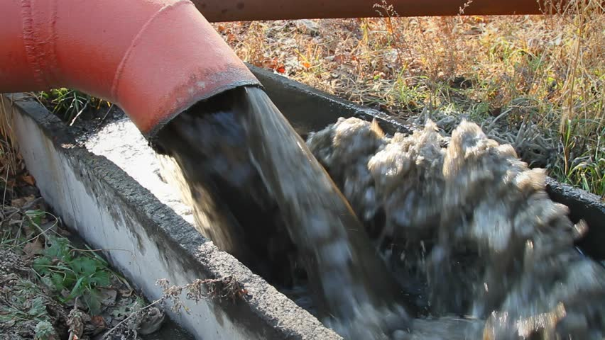 Visually similar footage & Stock video of a black storm drain pipe with   12625370   Shutterstock