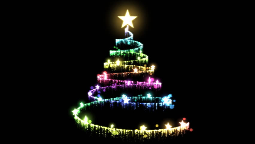 Rotating Christmas Tree Animation Stock Footage Video 100 Royalty Free 7884625 Shutterstock
