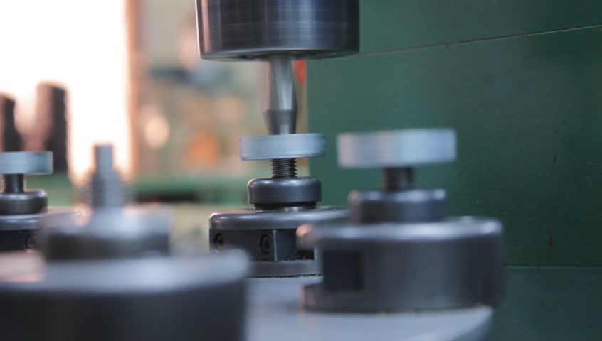 Semi Automated Machine used for Riveting Parts of a Movement Assembly of a Speedometer #793405