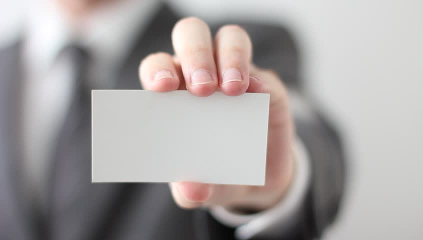 Business card stock footage video shutterstock business card reheart Choice Image