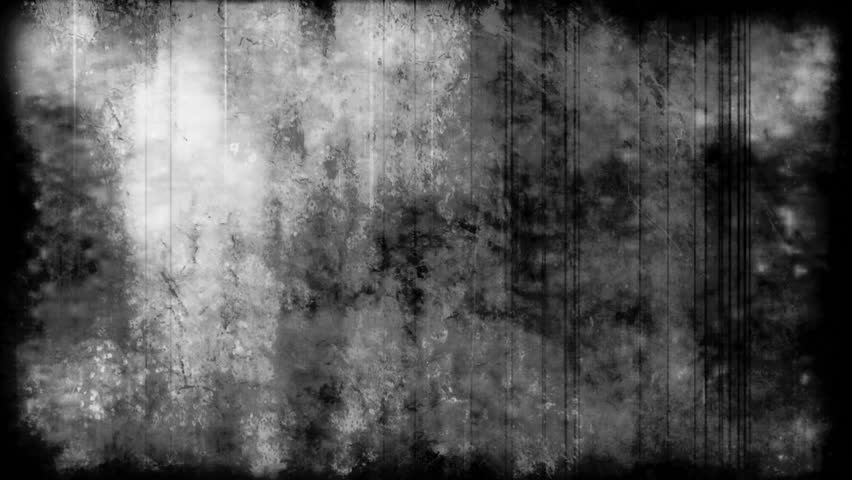 Creepy grunge texture black and white looping abstract - Scary animated backgrounds ...