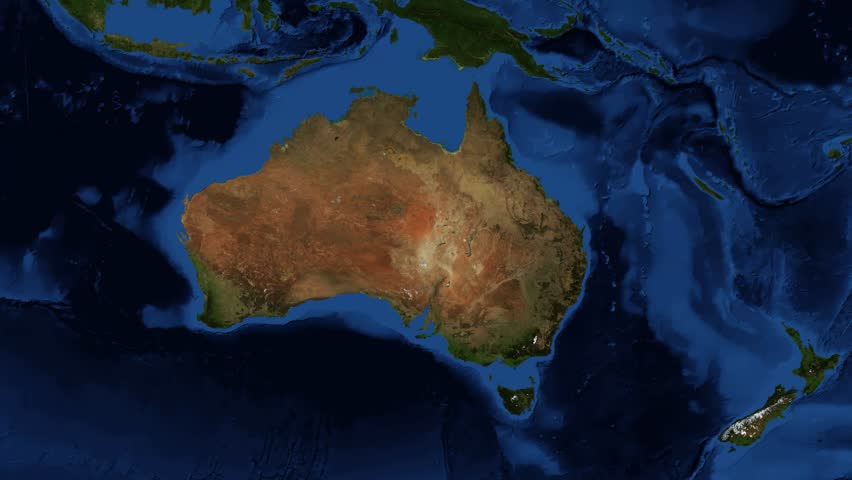 Map Of Australia From Space.Wa Western Australia From Stock Footage Video 100 Royalty Free 7979125 Shutterstock
