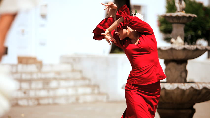 Stock Video Clip Of Two Ladies Dancing Traditional