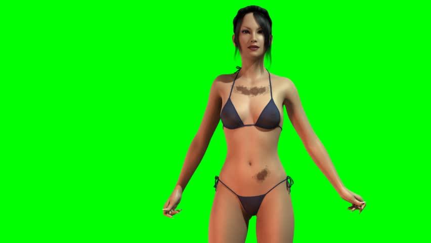 Pretty mature nude