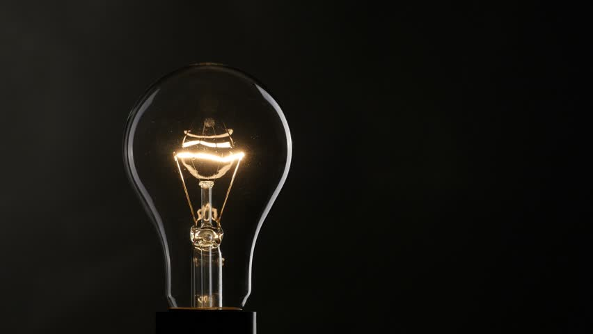 Light bulb over black background. 4K UHD - 4K stock video clip & Flashing Light Bulb Over Black Background Stock Footage Video ... azcodes.com