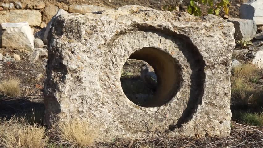 Ruins in Antioch in Pisidia near Yalvac, Turkey