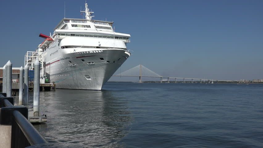 CHARLESTON SOUTH CAROLINAUSA OCTOBER Cruise Ship - Cruise ships out of charleston south carolina