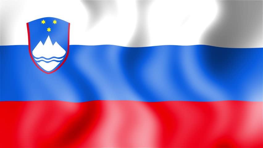 Slovenia Map Flag Rotating On Black Animation Stock Footage Video - Slovenia map hd