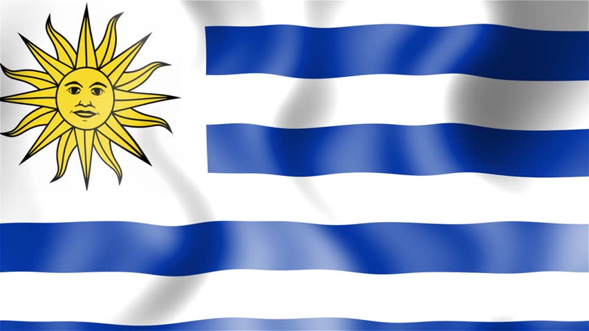 HD Waving Flag Uruguay Stock Footage Video Shutterstock - Uruguay flag