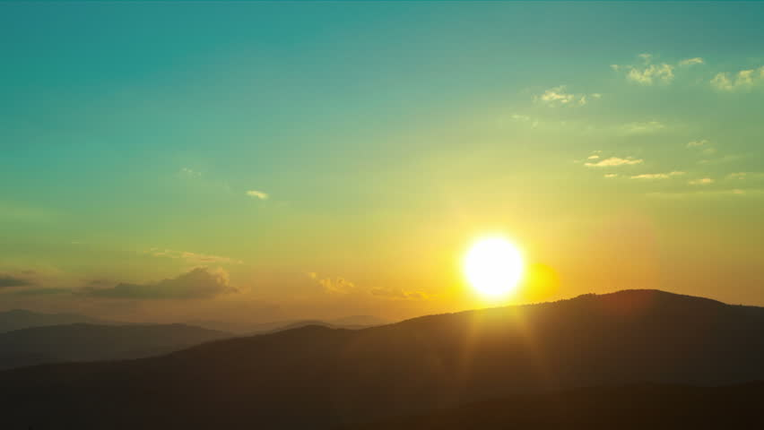 Timelapse sunset. #8257675