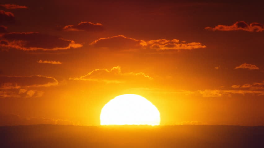 African sunrise timelapse. | Shutterstock HD Video #8257717
