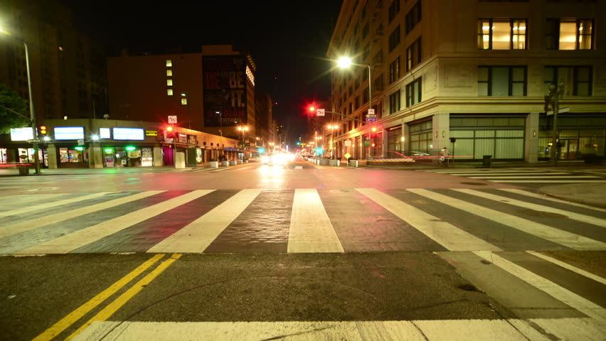 Driving Hyperlapse 58 Los Angeles Cityscape | Shutterstock HD Video #8270695
