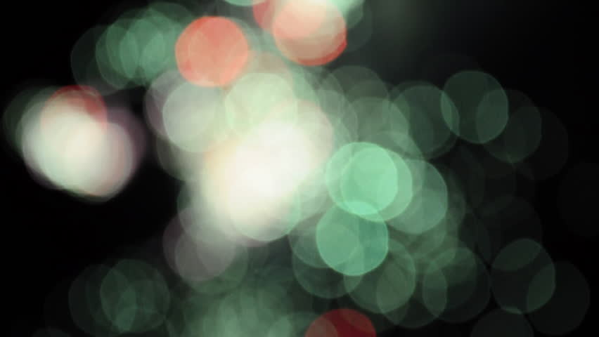 Bokeh fireworks explode in the sky at night. | Shutterstock HD Video #8554075
