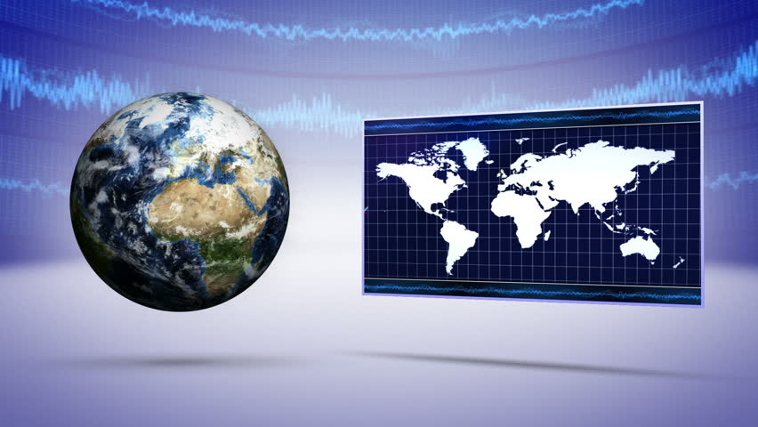 Teacher using interactive whiteboard and laser pointer to show the earth and business concept background hd stock footage clip gumiabroncs Images
