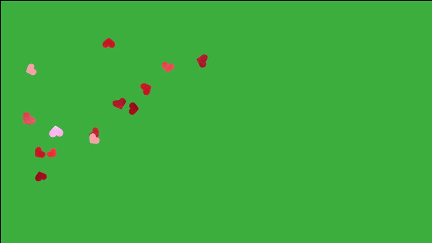 heart falling for valentines day, with many small detail heart #8650015