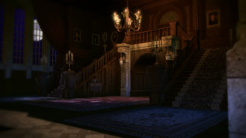 Apartment Inside Night night across nice eastern step up apartment brownstone white row