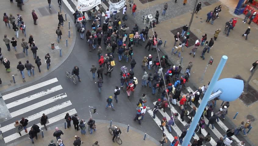 Demonstration | Shutterstock HD Video #894235