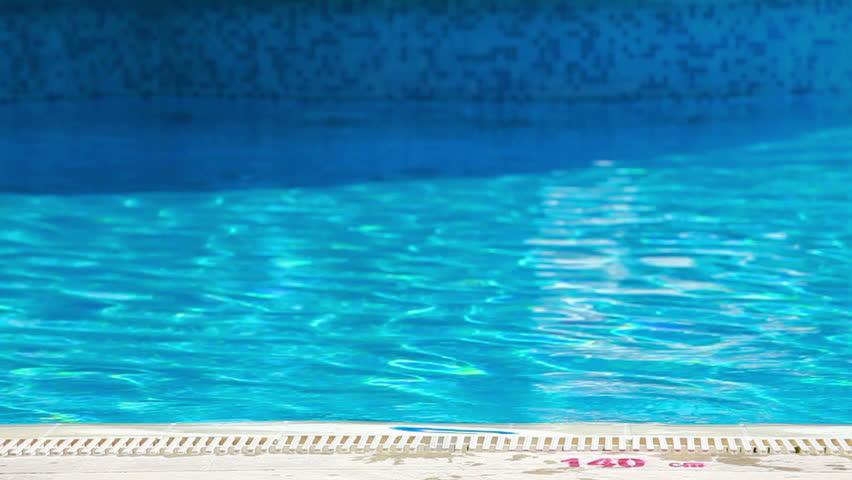 Jump in pool