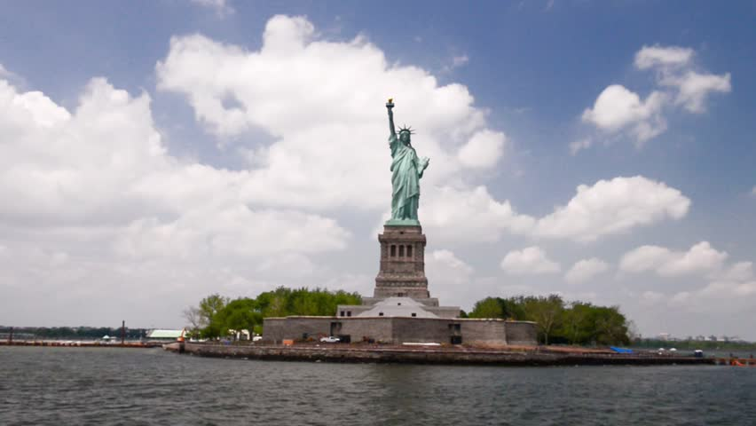 The Statue of Liberty - New York City | Shutterstock HD Video #9003715