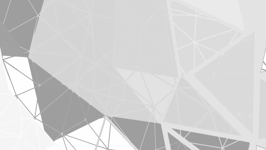 Abstract background animation for your projects. Gray triangles. Seamless loop.   Shutterstock HD Video #9052255