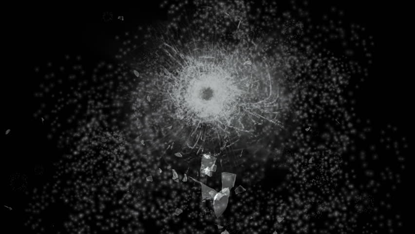 4k accident impact bullet holes traces background,broken cracked damaged glass backdrop,boxing punch hit ice windows. 0507_4k