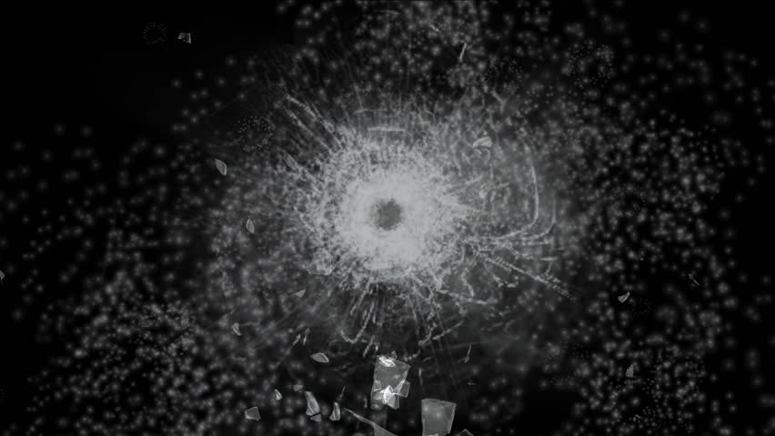 4k accident impact bullet holes traces background,broken cracked damaged glass backdrop,boxing punch hit ice windows. 0508_4k