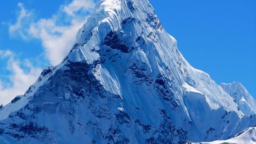 Mt  Ama Dablam in the Stock Footage Video (100% Royalty-free) 9282665 |  Shutterstock