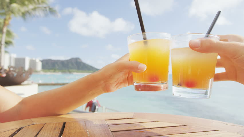 Alcoholic Drinks Beach Bar Stock Footage Video 100 Royalty Free 9300395 Shutterstock