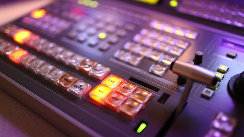 Broadcast Vision Mixer Stock Footage Video (100% Royalty-free) 930985 |  Shutterstock