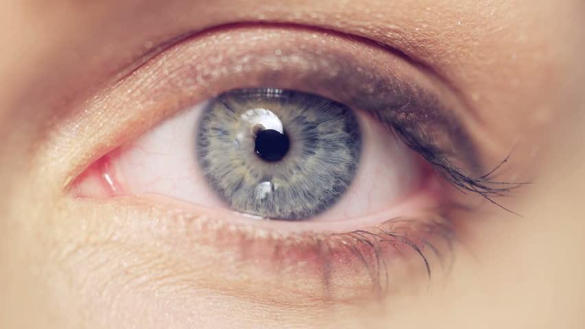Macro image of human eye #9314135