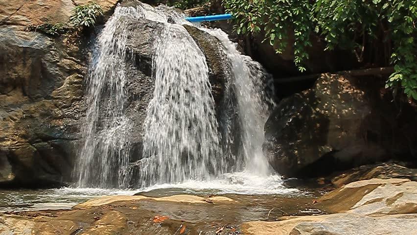 Thailand Chiang Mai Mae Sa Waterfalls nature