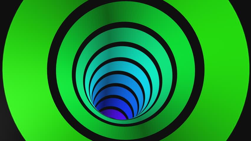 Loop Tunnel Rainbow multi colored