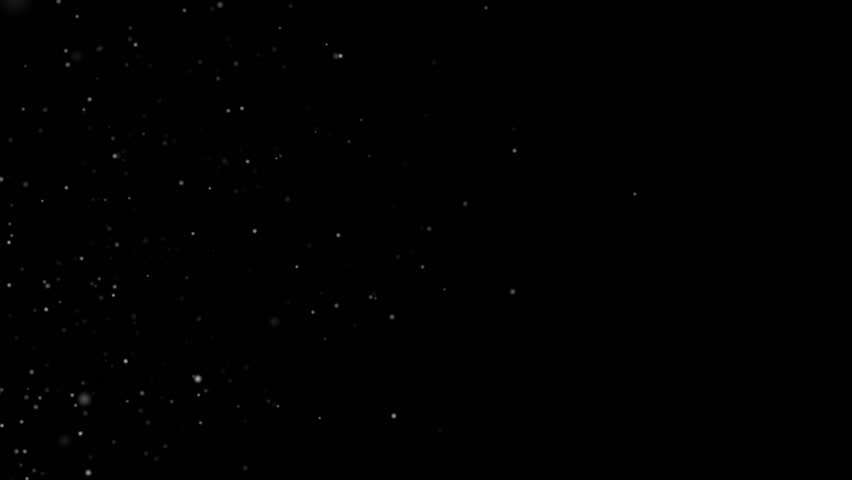 Dust particles moving in space. High quality clip rendered on high end computer and graphics card.  | Shutterstock HD Video #9466805