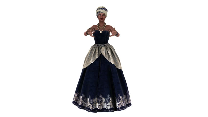 dancing woman animation