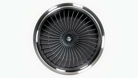 Jet engine rotating loopable