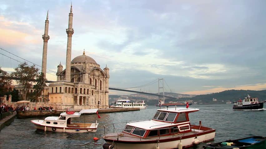 Ortakoy, Istanbul at dawn