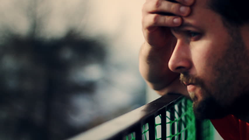 Sad Man Stock Footage Video - Shutterstock