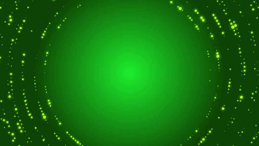 Abstract loop motion green background, particle element | Shutterstock HD Video #9626405