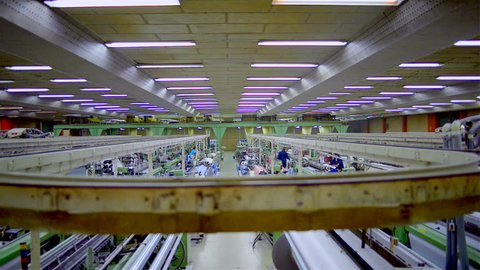 Manufactures industrial textile - making lines