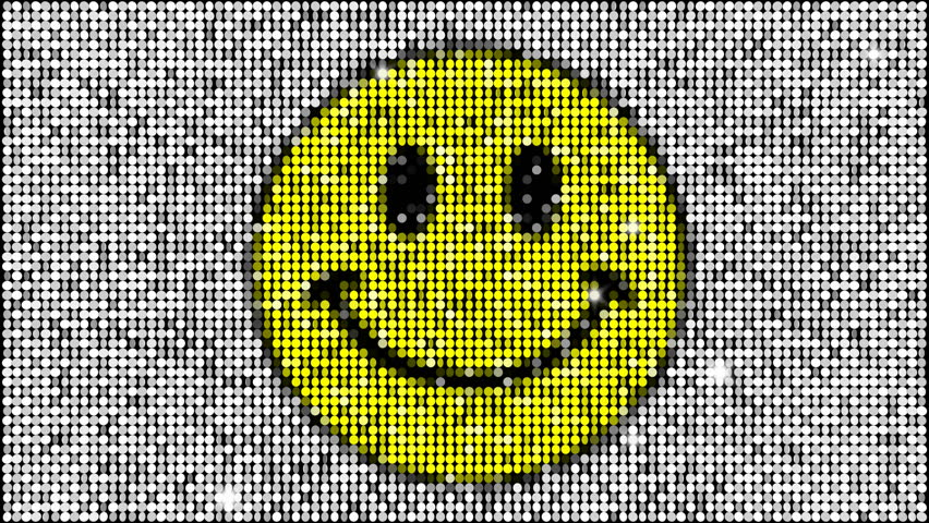 Smiley face - seamless looping