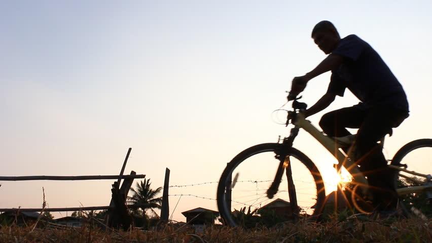 Sunrise Cyclist | Shutterstock HD Video #9730199